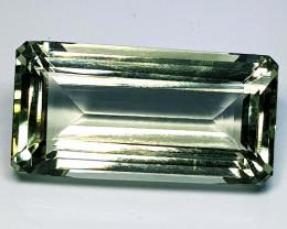 15.25 ct Top Quality Gem Stunning Octagon Cut Natural Green Amethyst