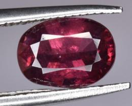 Natural Red Rhodolite Garnet 1.17 CTS Gem