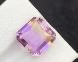 9.55 carats Bi-color Amazing Ametrine gemstone