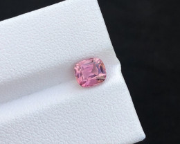 1.10(ct)Attractive Pink Congo Tourmaline Faceted Gem