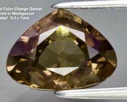 1.97ct Color Change Garnet - Unheated / Madagascar / 9.3x7mm
