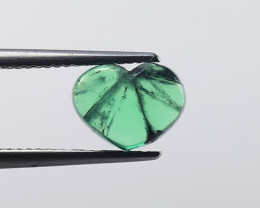 2.30  Cts Natural Trapiche Emerald from Colombia