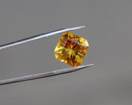 Citrine - 2.05ct - Yellowish-Orange - Top Cut