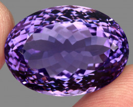 29.50  ct Natural Earth Mined Top Quality Unheated Purple Amethyst,Uruguay