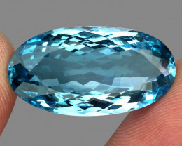 33.71 ct.100% Natural Earth Mined Top Quality Blue Topaz Brazil