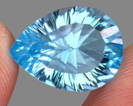 14.59 ct.100% Natural Earth Mined Top Quality Blue Topaz Brazil