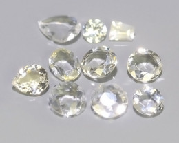 0.75 CTS~EXQUISITE NATURAL UNHEATED WHITE SAPPHIRE