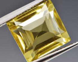 Natural Lemon Quartz 9.01  Cts Perfect Precision Cut