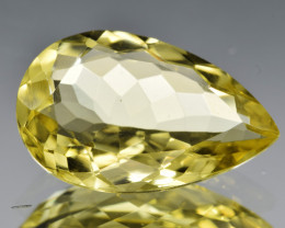 Natural Lemon Quartz 6.34  Cts Gemstone