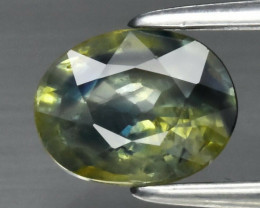 IGL CERTIFICATE Incl.*0.95ct Oval Natural Sapphire, Heated Only