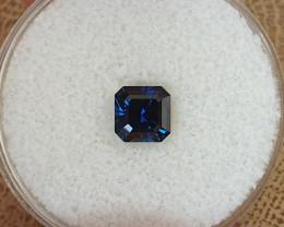 1,16ct dark blue to medium blue colour shift Sapphire - Master cut!
