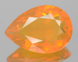 Mexican Fire Opal 4.72 Cts Very Rare Unheated Gemstone