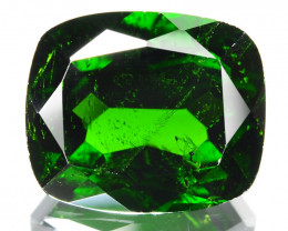 Chrome Diopside 8.00 Cts Natural Green Color Gemstone