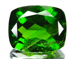 Chrome Diopside 5.00 Cts Natural Green Color Gemstone
