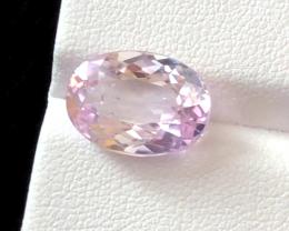 5.20 carats, Natural Pink Kunzite.