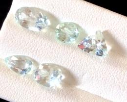 5.85 carats, Natural Aquamarine lot.