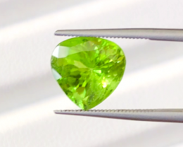 4.09 carats, Natural Peridot.