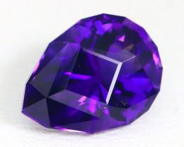 Amethyst 3.48Ct VVS Master Cut Natural Uruguay Violet Amethyst ST696