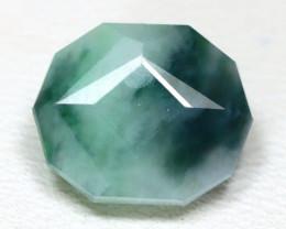 Jadeite Jade 3.28Ct Master Cut Natural Burmese Jadeite Jade SA42