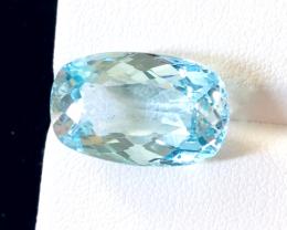 15.80 carats, Natural Blue Topaz.