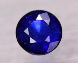 0.98Ct Natural Ceylon Blue Sapphire Round Cut Lot B4322