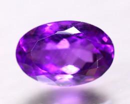6.65ct Natural Purple Amethyst Oval Cut Lot B4338