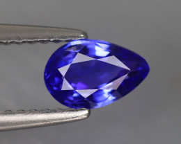 0.850Ct Tanzanite Top Luster AAA Blue D'Block Color Natural Earth Mine