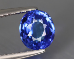 2.125Ct Tanzanite Top Luster AAA Blue D'Block Color Natural Earth Mine