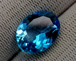 9CT BLUE TOPAZ BEST QUALITY GEMSTONE IIGC98