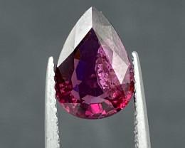 Natural Rhodolite 2.75 cts Sparkling Gemstone