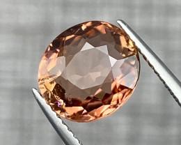 3.30 cts Natural Orange Tourmaline Good Quality Gemstone