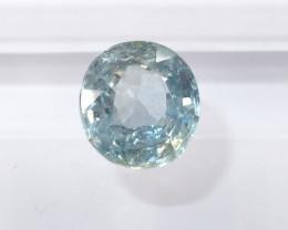 1.59ct  Unheated light blue sapphire