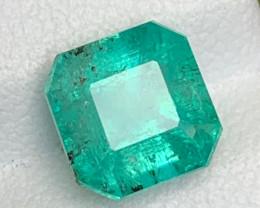 2.64 Carats Natural Panjshir Emerald