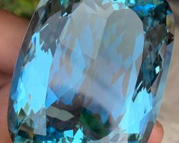 DSEF~Collectors Grade 524.5 Carats Natural Aquamarine Gemstone