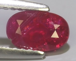 1.10 CTS NATURAL HEATED RUBY MOZAMBIQUE