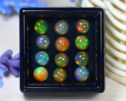 Welo Opal 4.32Ct Natural Ethiopian Rainbow Flash Welo Opal Lot ST713