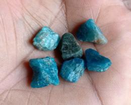 50 Ct Apatite Gemstone Rough Parcel 100% NATURAL AND UNTREATED VA1013