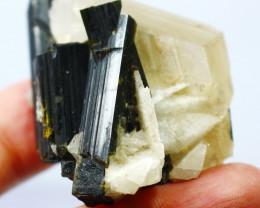 274.40 CTs Natural & Unheated~Black Tourmaline Crystal Specimen