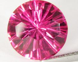 4.16Cts Amazing Natural Pink Topaz 10mm Round Loose Gemstone