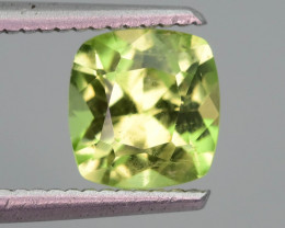 Lovely Color Mint Green 1.80 ct Peridot Ring Size