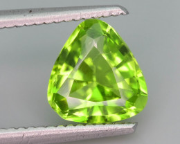 Top Grade 2.05 ct lovely Peridot Ring Size~Q