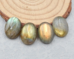 D2516 - 31.5cts Labradorite cabochons,natural Labradorite gemstone,round ca
