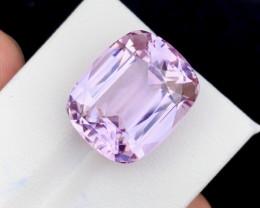 22.65 Carat One Of best Fancy Cut Kunzite Gemstone