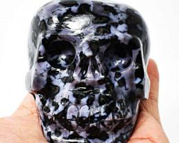 Genuine 2525.00 Cts Gabrella Jasper Carved Skull
