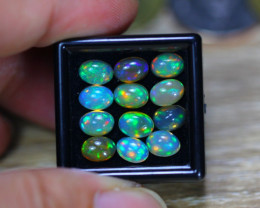 7.14Ct Natural Ethiopian Welo Solid Opal Lot GW9426