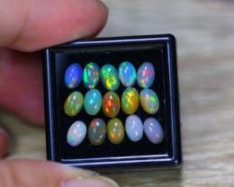 4.22Ct Natural Ethiopian Welo Solid Opal Lot GW9441