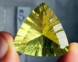 25.15 carats, Natural Laser Cut Citrine