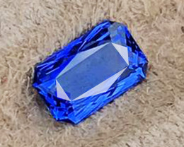 1.88 CT SAPPHIRE VIVID BLUE ONLY HEATED 100% NATURAL SRI LANKA