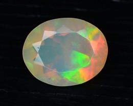 Rainbow Fire 1.30 ct Ethiopian Opal - Oval Shape