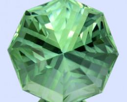 5.75 Cts Amazing Natural Prasiolite Amethyst Fancy Star Custom Cut REF VIDE